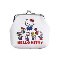 Hello Kitty 45週年零錢包,長錢包/錢包袋/短夾/長夾/中夾/零錢包/皮夾,X射線【C606360】