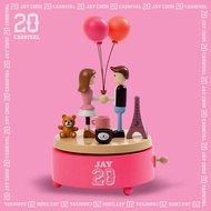 Jay chou Limited Edition Jay 20 Musical box