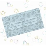 成人平面型醫用口罩(湖水藍變形蟲)-50入 /單片包裝