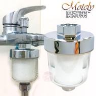 【魔特萊】亞硫酸鈣高密度PP濾棉除氯濾芯沐浴器(3入)