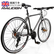 Raleigh British Landin Variable Speed Road Bike Male and Female Double Disc Brake Adult Light Off-road Racing Car