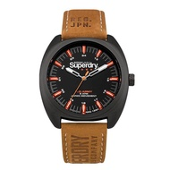 Superdry Scout Infantry SYG228TB Analog Quartz Brown Leather Mens Watch