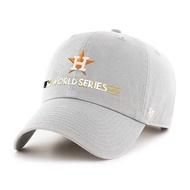 【血拼妞】47 BRAND Clean Up MLB 休士頓太空人 2017 世界大賽 冠軍紀念帽 棒球老帽 灰《現貨》