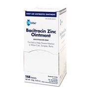 ▶$1 Shop Coupon◀  Globe Bacitracin Zinc Ointment - Cut, Scrape, and Burn Cream - Antibiotic First Ai
