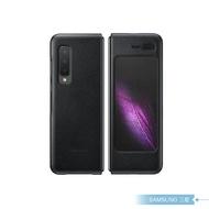 Samsung三星 原廠Galaxy Fold F900專用 真皮背蓋 黑【公司貨】