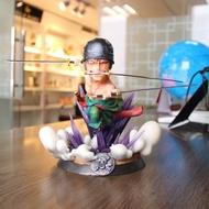 海賊王 PT索隆 GK雕像 3刀流索隆 盒裝手辦公仔擺件模型公仔