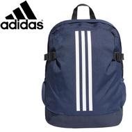 Adidas 愛迪達 三線 後背包 深藍 (DM7680)