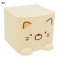 角落生物 Sumikko Gurashi 積木式迷你收納盒-貓,雜物籃/收納盒/書架/雜誌架,X射線【C424411】