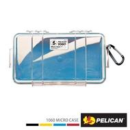 【PELICAN】1060 Micro Case 微型防水氣密箱(透明藍色)