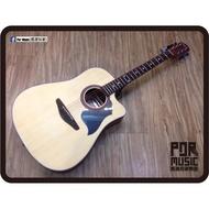 【搖滾玩家樂器】全新 WAWA GW-345NS 民謠吉他 原木色 霧面 木吉他