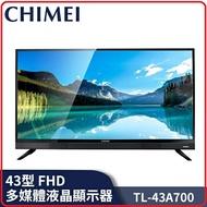 CHIMEI 奇美 TL-43A700 43型 FHD 低藍光液晶顯示器 + 視訊盒