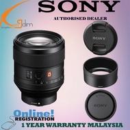Sony FE 85mm f/1.4 GM Lens (SONY MALAYSIA WTY)