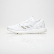【adidas 愛迪達】PURE BOOST SNEAKERBOY X WISH 三方聯名 JELLYFISH 水母 夜光 男鞋 白(S80981)