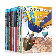 A to Z Mysteries Super Edition  - (11 books) paperback, English books foe children