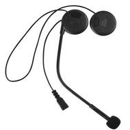 Motorcycle Helmet Headset Rainproof Stereo Earphone Black With bluetooth Function