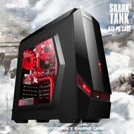 SUNFAR  G6 1大2小/黑 電腦機殼