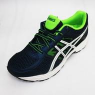 亞瑟士 ASICS GEL-CONTEND 4 GS 運動鞋 童鞋 -C707N-4901 深藍x螢光綠 [陽光樂活]