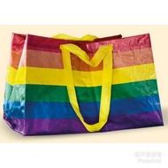 現貨-澳洲限定款ikea 彩虹購物袋
