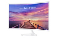 Samsung 32-Inch Widescreen FHD Curved LED Monitor, 1920x1080 Resolution, 16:9 Aspect Ratio, 4ms Response Time, 178 Degrees Viewing Angles, 3,000:1 Static Contrast Ratio, HDMI, Display Port, White