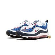 休閒鞋 耐吉 Nike Air Max 98 Gundam 鋼彈 藍白 3M 反光 氣墊 男女 640744-005