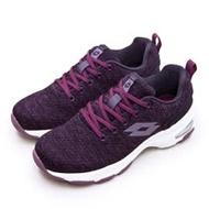 【女】LOTTO 增高厚底美型健走鞋 EASY WEAR 系列 葡萄紫 1197