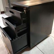 OA活動鐵製三層抽屜櫃( 請自取於板橋)
