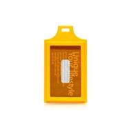 EVOUNI-C20 繽_造型證件套-黃  [94號鋪]  (單證件套 沒有頸圈)