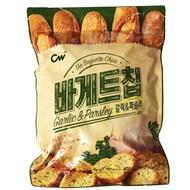 【愛零食】韓國 CW大蒜麵包餅乾 大蒜餅乾 大蒜麵包