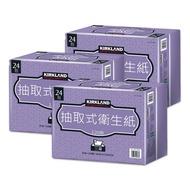 【現貨】Kirkland Signature 科克蘭 三層抽取衛生紙 共72包(120張 X 24包 X 3組 )