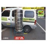 【Danflow 登旺專賣店】標準型200公升(正304)不鏽鋼RO儲水塔。工廠直營。台灣製造