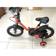 迪卡儂 14吋 附快拆輔助輪 兒童腳踏車 B'TWIN Robot 500