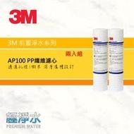 3M AP100 PP纖維濾心【兩入組】│極淨水