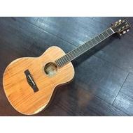【名人樂器】Ayers 全單板 TG-09 全手工旅行木吉他