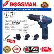 BOSSMAN 12V Bossman BWU-128 Cordless Impact Drill (Battery Drill & Screw)
