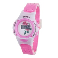 blue shope #3001 Hot BoyGirlStudentTime Electronic Digital Wrist Sport Watch