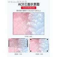 ✽❐✗華為MateBook13貼紙matebook X pro 13.9寸電腦貼膜E/D筆記本外殼保護膜全套機身貼膜配件
