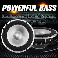 Car subwoofer 6.5 inch 4 ohm speaker a pair of car audio system modification kit speaker car horn