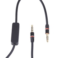 3.5mm Audio Cable Cord w/ MIC For Nakamichi NK 780 M 780bk On-Ear Headphone
