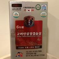 [天壹級]高麗太極人蔘粉末膠囊6年根高劑量600mg/韓國帶回保證正貨
