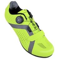 BAISKY百士奇自行車公路車登山車硬底卡鞋 阿波羅 螢光綠