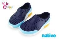native LENNOX BLOCK 洞洞鞋 小雷諾系列 中小童 休閒鞋 K9475#藍色 奧森
