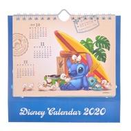 日本迪士尼store 史迪奇2020桌曆&掛曆