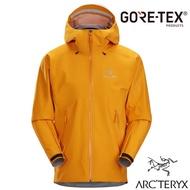 【ARCTERYX 始祖鳥】男款 Beta LT Gore-Tex 防風防水透氣連帽外套 風雨衣_26844 伊格奈橘