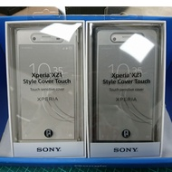 SONY XZ1 Style cover touch 原廠視窗皮套 有4色可選