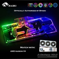 【Fast delivery & In stock】Bykski Full Cover GPU Water Block For VGA AMD RADEON VII Graphics Card Cooler A-RADEON VII-X