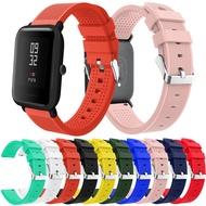 華米青春版AMAZFIT矽膠錶帶 川字紋矽膠手錶帶 運動款腕帶20mm  amazfit米動手錶青春版 20mm快拆錶帶
