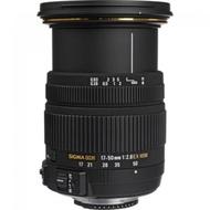 [ สินค้า Pre-Order จัดส่ง 8-14 วัน ] [ผ่อน0%]Sigma AF 17-50mm f2.8 EX DC OS HSM for Nikon (Black)