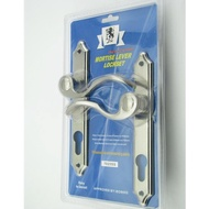 JTC Mortise Lever Lockset 7025SS