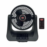 EuropAce 9 Inches Jet Turbine Fan with Remote Control - EJF 598S (Black)