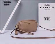 Bag กระเป๋าแฟชั่น กระเป๋าถือสไตล์โคชCOACH สะพายข้างผู้หญิง ขนาด 8 นิ้ว